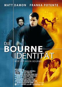 Top 10 Actionfilm: Die Bourne Identität