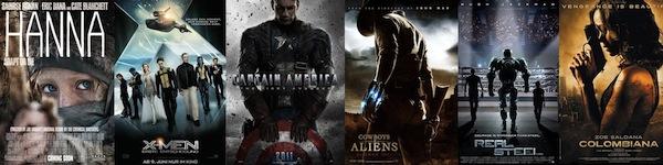 Alle Actionfilme 2011 im Überblick