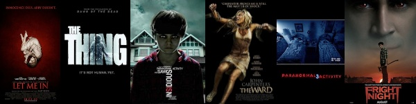 Top 10 der besten Horrorfilme 2011