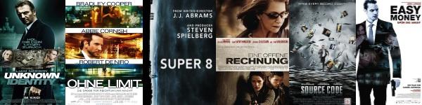 Die besten Thriller 2011 - Top 10 Liste