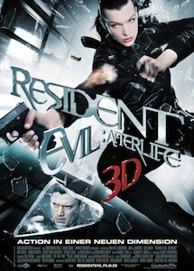 Horrorfilm 2010: Resident Evil Afterlife